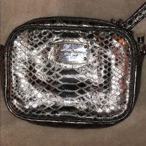 Michael Kors silver crossbody!!!